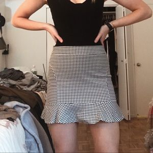 Skirts - Plaid skirt